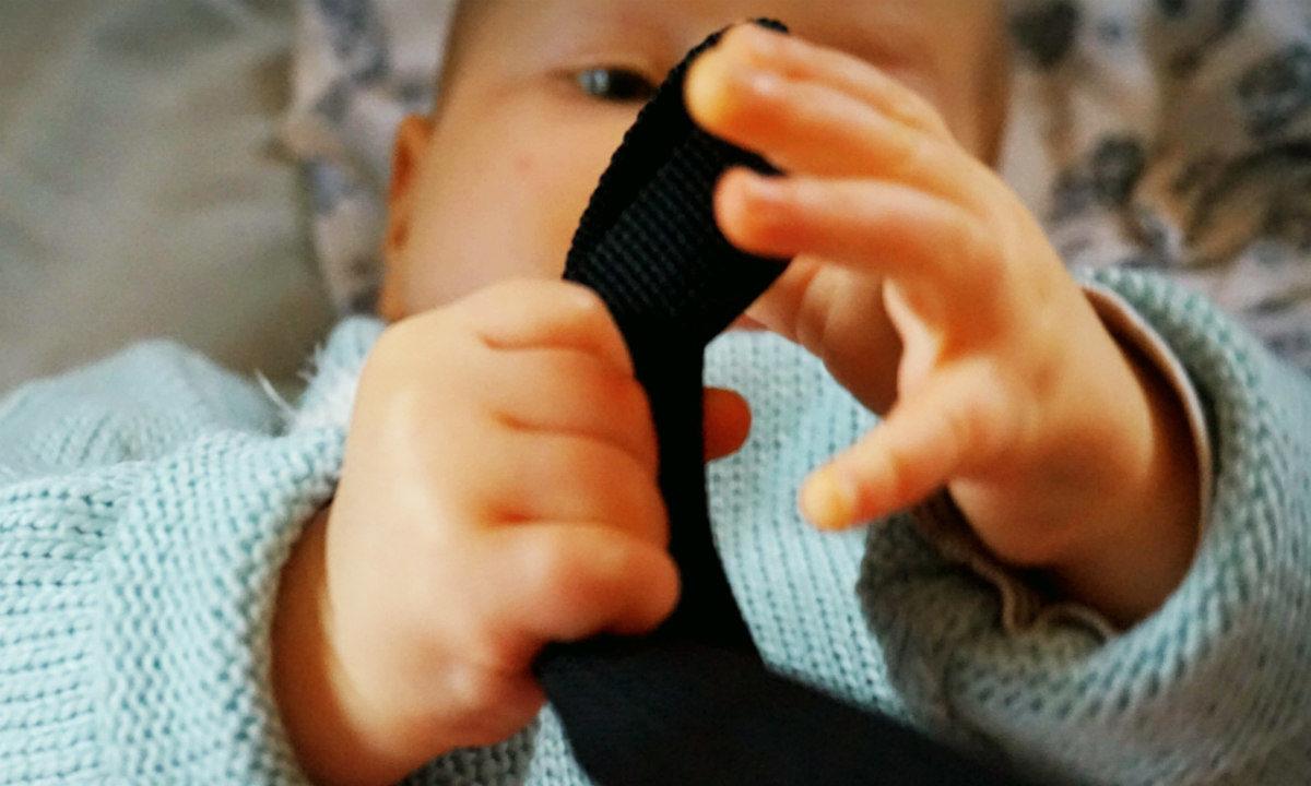 der fünfte Wachstumsschub Baby