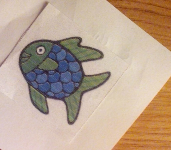 Fisch-Symbol Kindergarten