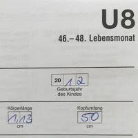 U8 Untersuchung Kind