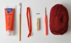 Zutaten_DIY_Waescheklammer_Weihnachtsmann