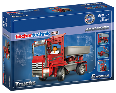 fischertechnik trucks baukasten