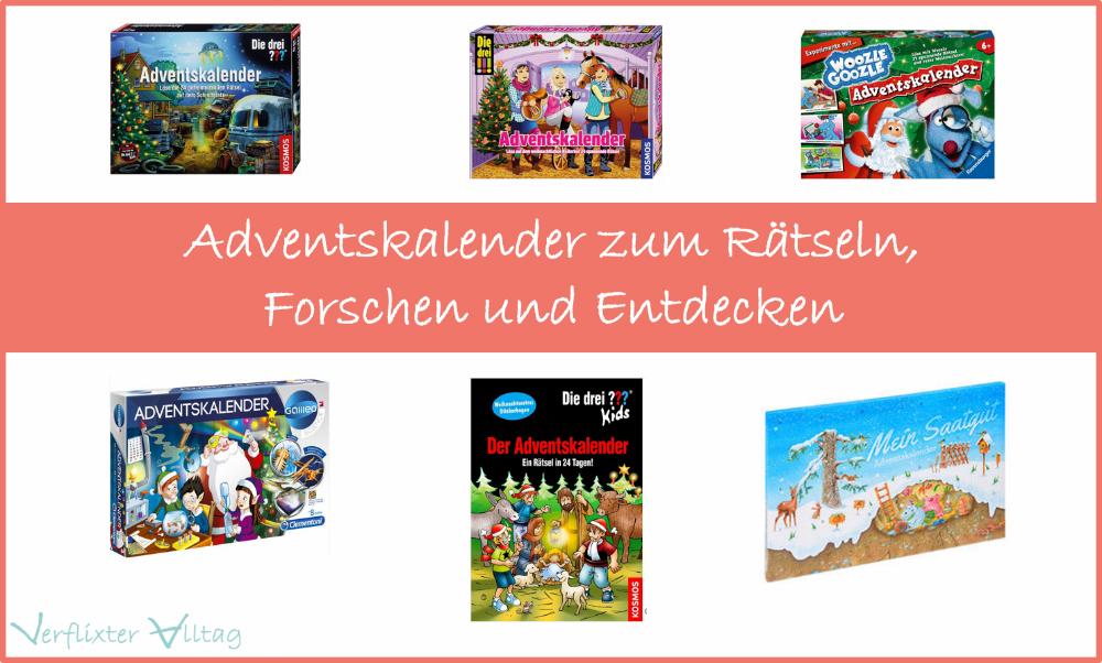 Adventskalender zum Raetseln - die drei ??? und co.