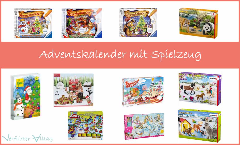 Adventskalender mit Spielzeug
