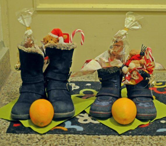 Nikolausstiefel für Kleinkinder