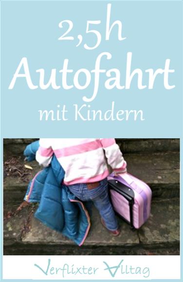 2,5 Stunden Autofahrt mit Kindern - Tagebuchgebloggt