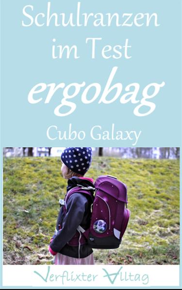 Schulranzen im Test - der Ergobag cubo galaxy
