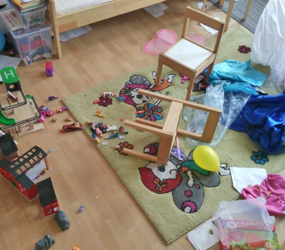 Kinderzimmer-Chaos