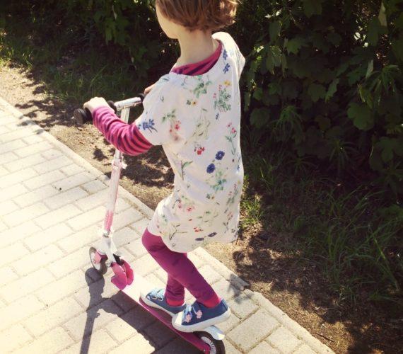 Rollerfahren nach Armbruch