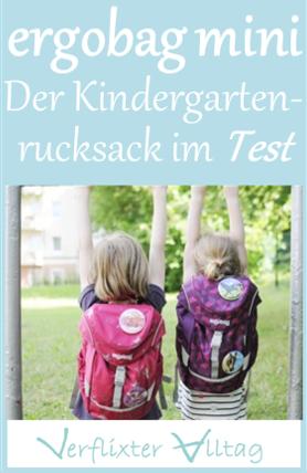 Der ergobag mini Kindergartenrucksack im Test