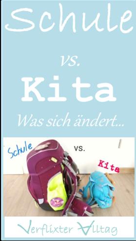 Schule vs. Kita - Was sich ändert...