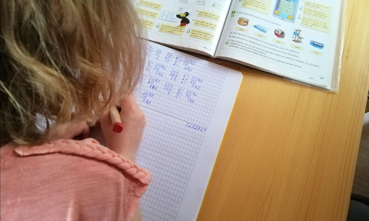Entwicklung Mathe-Fähigkeiten beim Kind